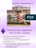 Cardiorespiratory Adaptations to Training