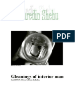 Gleanings of Interior Man a Scrapbook by Fahredin Shehu