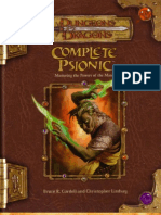 D&D 3.5 - Complete Psionic [OEF]