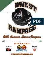2010 Season Program