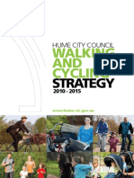 Hume Walking and Cycling Strategy 2010-2015