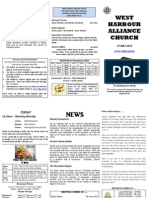 Church Newsletter - 27 May 2012