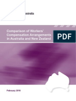 Comparison of Workers Comp 2010