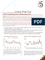 Economy First Cut Inflation - February 2012