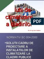 CURS 5B_Solutii de Climatizare a Cladirilor
