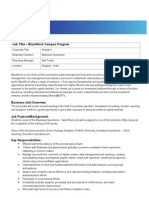 Analyst 1 Campus Job Description BlackRock India -2012