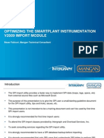 1- Optimizing the Import Module