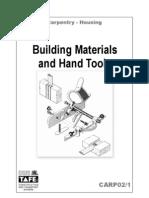 CARP02 Building Materials and Hand Tools