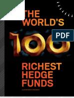 100 Richest Hedge Fund - BBG