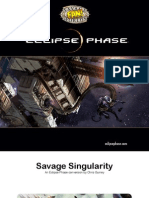 Savage Singularity - Eclipse Phase Savage Worlds Conversion