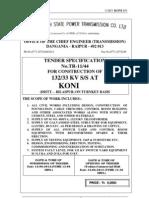Tender Document KoniFinal