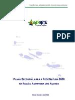 Plano Sectorial - Rede Natura 2000