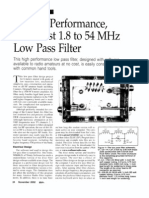 High Performance, Low Cost 1.8 to 54 MHz Low Pass Filter-Jones_2002-11