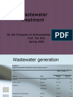 Waste Water Treatment Blanks