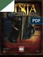 AEG Ninja Rulebook