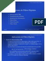 Aplicaciones de Filtros Digitales Tema11