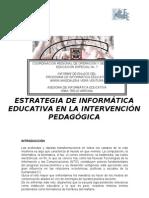 Estrategia de a Educativa