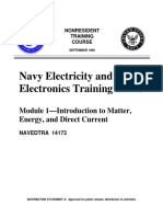 Module 1 - Intro to Matter,Energy and DC