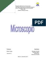 Inforrme celular microscopio