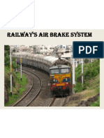 railway's air braking system ppt.