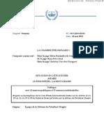 Affaire CPI vs. Gbagbo - Défense de Laurent Gbagbo (24 mai 2012)