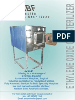 eto sterilizer for cssd department