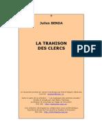 La trahison des clercs (intégral) - Julien Benda