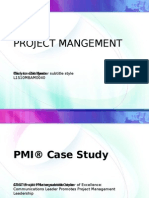 PMI® Case Study