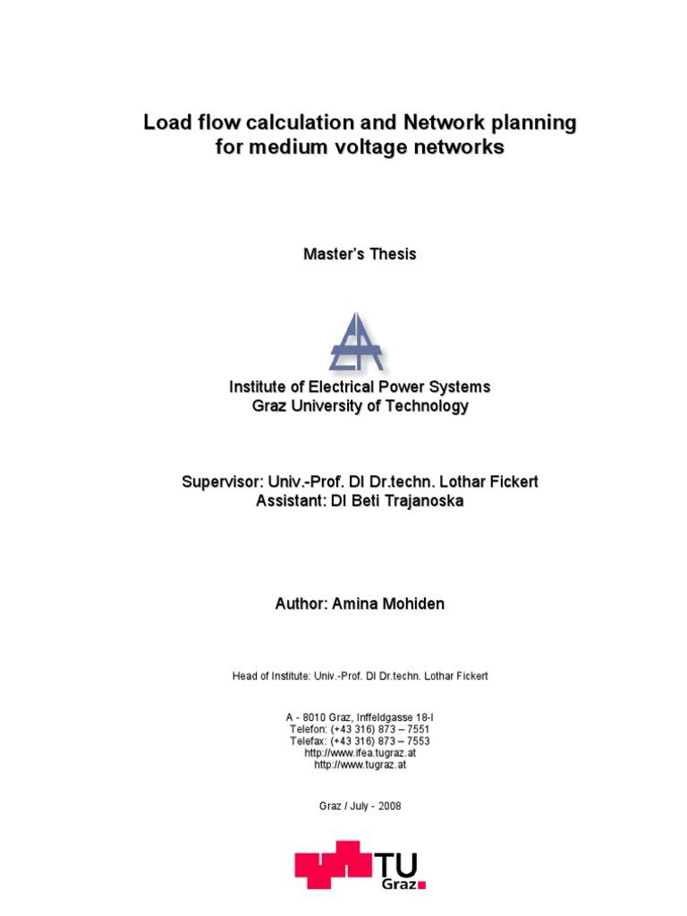 Master thesis tu