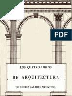 Los Cuatro Libros de Arquitectura de Paladio