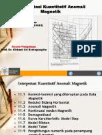 Presentasi Interpretasi Anomali Magnetik