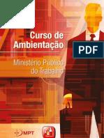 Apostila 5° Curso de Ambientação MPT