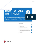How to Pass an Audit