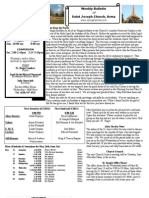 St. Joseph's May 27, 2012 Bulletin