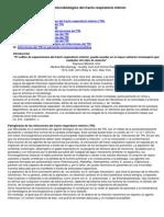 Estudio Microbiologico Tracto Respiratotio Inferior