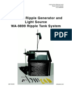 Pasco Ripple Tank Manual
