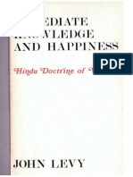 John Levy Immediate Knowledge and Happiness Hindu Doctrine of Vedanta Abbyy