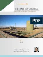 Fracking Oil Shale Gas vs Biogas