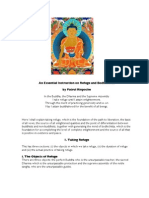 An Essential Instruction on Refuge and Bodhichitta - Patrul Rinpoche