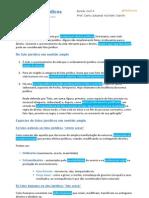 D. Civil II (23-02) - Dos Fatos Jurídicos