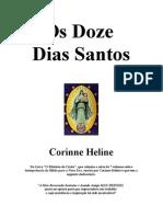 Corinne Heline - Os Doze Dias Santos