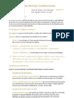 TEC (03-05) - Classificação das Normas Constitucionais