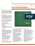 Pedestal 3PP