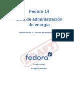 Fedora 14 Guía de administración de energía