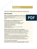 SAP and Finance- Asset Accounting