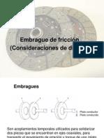 CV 04-Diseño de embrague de fricción