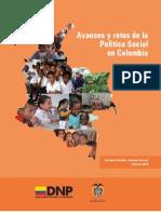 Avances y retos de la Política Social en Colombia