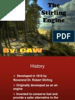 CAW Stirling Engine