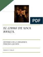 EL LIBRO DE UNA BRUJA. TERCERA LECCIÓN