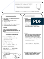 I Examen Bimestral 5TO Y 6TO